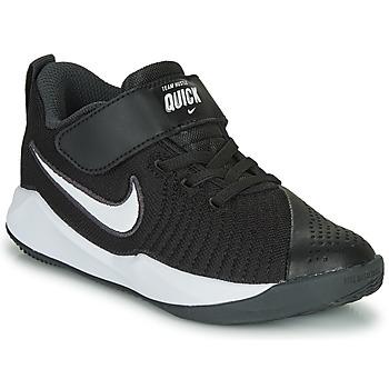 Buty Dziecko Multisport Nike TEAM HUSTLE QUICK 2 PS Czarny / Biały