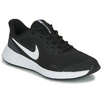 Buty Dziecko Trampki niskie Nike REVOLUTION 5 PS Czarny / Biały