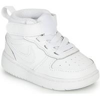 Buty Dziecko Trampki niskie Nike COURT BOROUGH MID 2 TD Biały