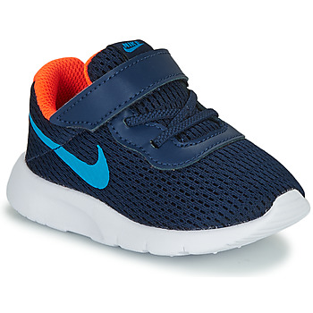 Buty Chłopiec Trampki niskie Nike TANJUN TD Niebieski