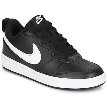 Buty Dziecko Trampki niskie Nike COURT BOROUGH LOW 2 GS Czarny / Biały