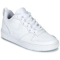 Buty Dziecko Trampki niskie Nike COURT BOROUGH LOW 2 GS Biały
