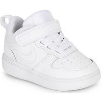Buty Dziecko Trampki niskie Nike COURT BOROUGH LOW 2 TD Biały