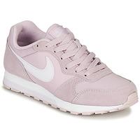 Buty Dziewczynka Trampki niskie Nike MD RUNNER 2 PE GS Różowy