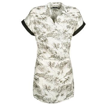 tekstylia Damskie Sukienki krótkie Volcom VACAY ME SS DRESS Biały