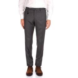 tekstylia Męskie Spodnie od garnituru  Incotex 1AT030 1394T Szary