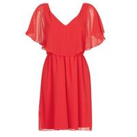 tekstylia Damskie Sukienki krótkie Naf Naf LAZALE Czerwony