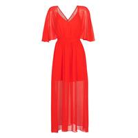 tekstylia Damskie Sukienki długie Naf Naf CAMILLE R1 Czerwony
