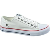Buty Damskie Trampki niskie Big Star Shoes DD274336 Białe
