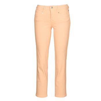 tekstylia Damskie Spodnie z pięcioma kieszeniami Freeman T.Porter LOREEN NEW MAGIC COLOR Koralowy-różowy