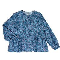 tekstylia Dziewczynka Topy / Bluzki Pepe jeans ISA Niebieski
