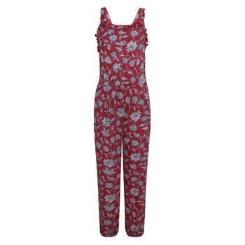 tekstylia Dziewczynka Kombinezony / Ogrodniczki Pepe jeans SOFIA Czerwony