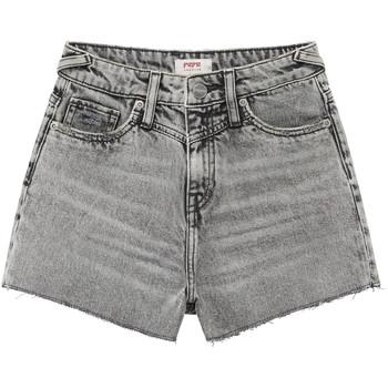 tekstylia Dziewczynka Szorty i Bermudy Pepe jeans ROXIE Szary