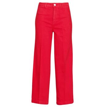 tekstylia Damskie Jeansy bootcut Tommy Hilfiger BELL BOTTOM HW CCLR Czerwony