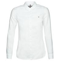 tekstylia Damskie Koszule Tommy Hilfiger HERITAGE REGULAR FIT SHIRT Blc