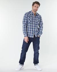 tekstylia Męskie Jeansy straight leg Levi's 502™ TAPER Biologia / Adv