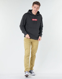 tekstylia Męskie Spodnie z pięcioma kieszeniami Levi's 511 SLIM FIT Beżowy