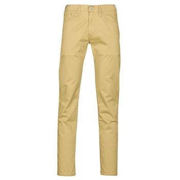 tekstylia Męskie Spodnie z pięcioma kieszeniami Levi's 511™ SLIM FIT Beżowy