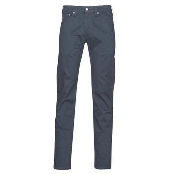 tekstylia Męskie Spodnie z pięcioma kieszeniami Levi's 511 SLIM FIT Marine