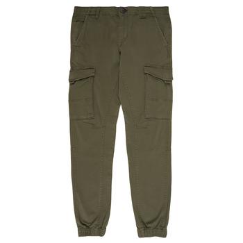 tekstylia Chłopiec Spodnie bojówki Jack & Jones JJIPAUL Kaki