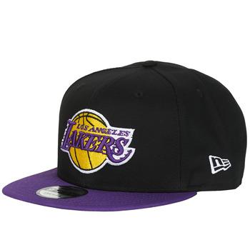 Dodatki Czapki z daszkiem New-Era NBA 9FIFTY LOS ANGELES LAKERS Czarny / Fioletowy