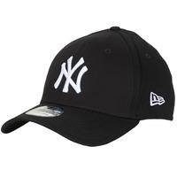 Dodatki Czapki z daszkiem New-Era LEAGUE BASIC 39THIRTY NEW YORK YANKEES Czarny / Biały