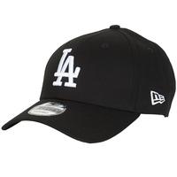 Dodatki Czapki z daszkiem New-Era LEAGUE ESSENTIAL 9FORTY LOS ANGELES DODGERS Czarny / Biały