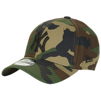 Dodatki Czapki z daszkiem New-Era LEAGUE ESSENTIAL 9FORTY NEW YORK YANKEES Camouflage / Kaki