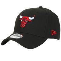 Dodatki Czapki z daszkiem New-Era NBA THE LEAGUE CHICAGO BULLS Czarny / Czerwony