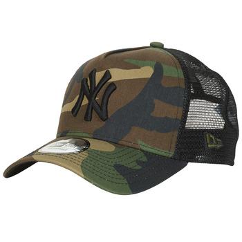 Dodatki Czapki z daszkiem New-Era CLEAN TRUCKER NEW YORK YANKEES Camouflage / Kaki