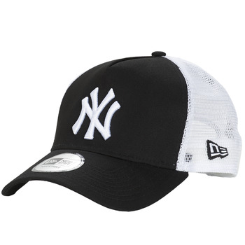 Dodatki Czapki z daszkiem New-Era CLEAN TRUCKER NEW YORK YANKEES Czarny / Biały