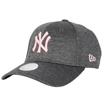 Dodatki Damskie Czapki z daszkiem New-Era ESSENTIAL 9FORTY NEW YORK YANKEES Szary / Różowy