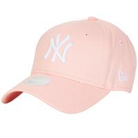 Dodatki Damskie Czapki z daszkiem New-Era ESSENTIAL 9FORTY NEW YORK YANKEES Różowy
