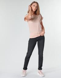 tekstylia Damskie Jeansy straight leg G-Star Raw MIDGE MID STRAIGHT WMN Szary / Fonce