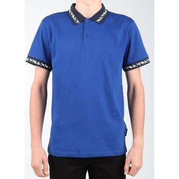 tekstylia Męskie Koszulki polo z krótkim rękawem DC Shoes T-shirt DC EDYKT03380-BYB0 granatowy