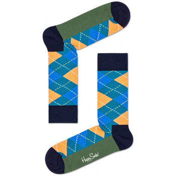 Dodatki Skarpety Happy Socks Argyle sock Wielokolorowy