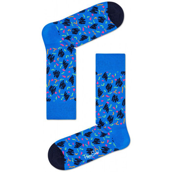 Dodatki Męskie Skarpety Happy Socks Sketch sock Wielokolorowy