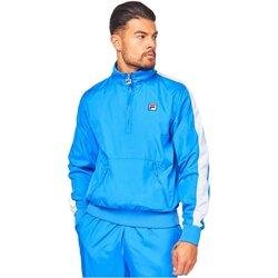 tekstylia Męskie Bluzy dresowe Fila 684518 HOPPER Niebieski