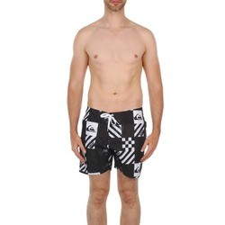 tekstylia Męskie Kostiumy / Szorty kąpielowe Quiksilver ATOMIC 16 BS Czarny / Biały