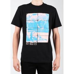 tekstylia Męskie T-shirty z krótkim rękawem DC Shoes T-shirt DC EDYZT03746-KVJ0 czarny