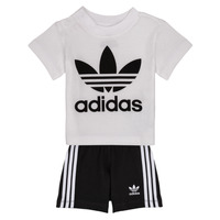 tekstylia Chłopiec Komplet adidas Originals CAROLINE Biały / Czarny