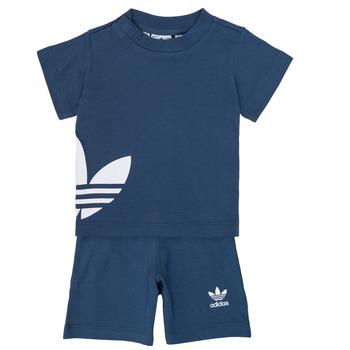 tekstylia Chłopiec Komplet adidas Originals CYLIA Niebieski