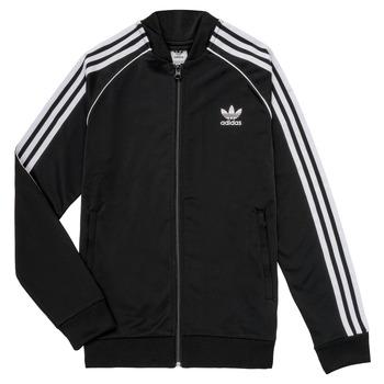 tekstylia Dziecko Bluzy dresowe adidas Originals LYAM Czarny
