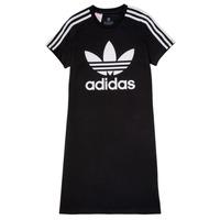 tekstylia Dziewczynka Sukienki krótkie adidas Originals SALOME Czarny