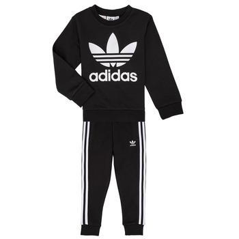 tekstylia Dziecko Komplet adidas Originals LOKI Czarny