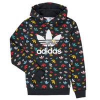 tekstylia Dziewczynka Bluzy adidas Originals DLIA Czarny