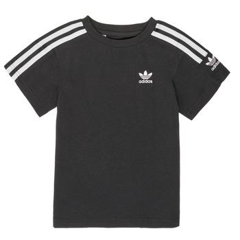 tekstylia Chłopiec T-shirty z krótkim rękawem adidas Originals MINACHE Czarny