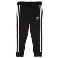 tekstylia Dziecko Spodnie dresowe adidas Originals LOOAI Czarny