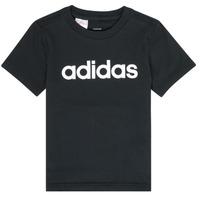 tekstylia Chłopiec T-shirty z krótkim rękawem adidas Performance NATAZO Czarny