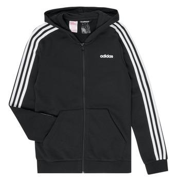 tekstylia Dziewczynka Bluzy adidas Performance GOMELLO Czarny